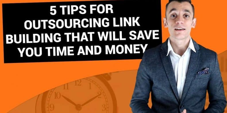 this is a picture of outsourcing link building