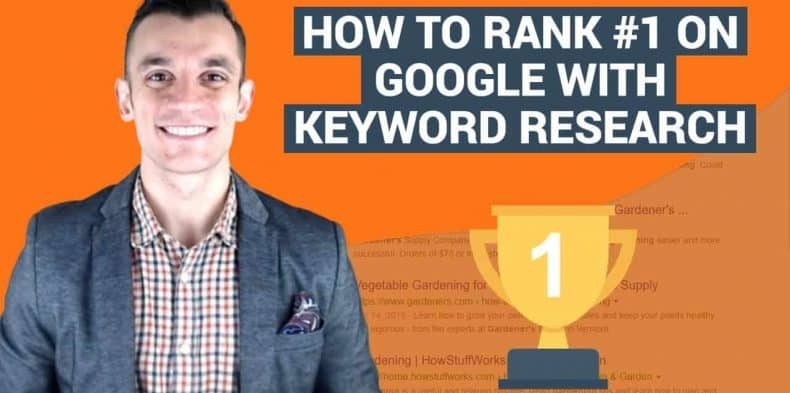 How to Rank #1 on Google with Keyword Research [3 Step Blueprint]