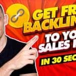 How To Get Free Backlinks to Your Sales Pages in 30 seconds