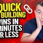 Link Building Tips 2021 - Get Backlinks In Five Minutes!